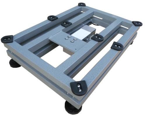 电子台秤合理的受力结构设计,受力均匀,从而保证称量的精度