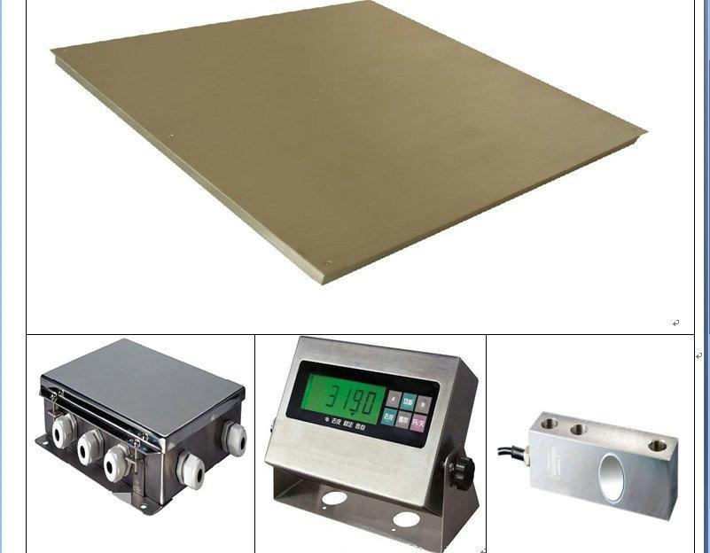 在选配不锈钢地磅的同时,也可考虑其它配件也可以选择不锈钢!