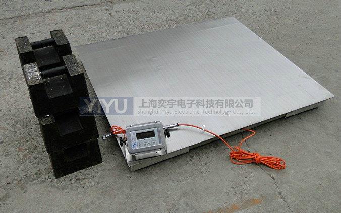 不锈钢电子地磅,高品质,奕宇专业提供