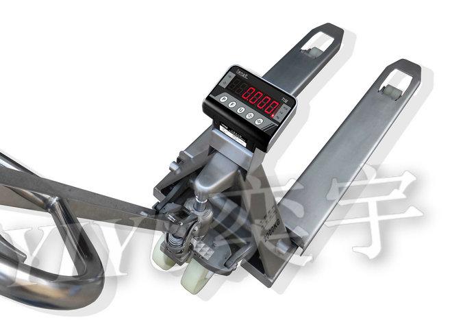 高品质全不锈钢液压叉车秤