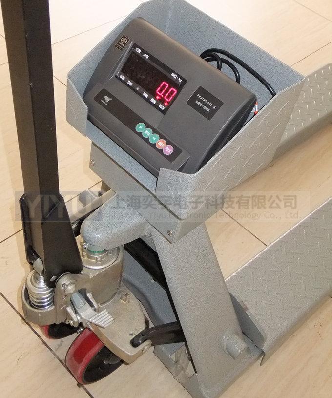 电子叉车秤称重显示仪表功能