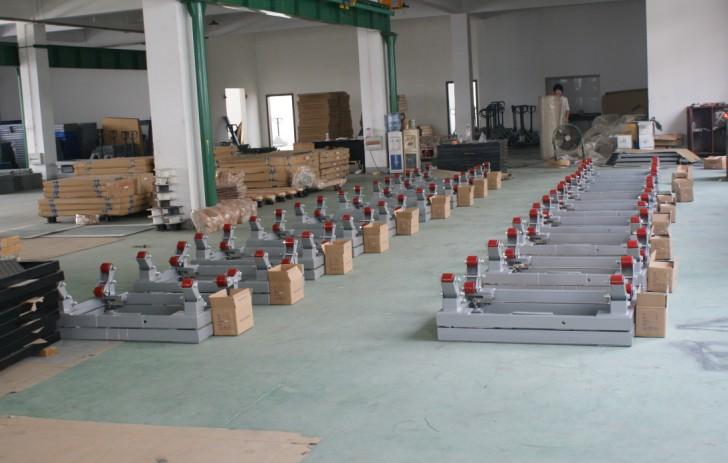 电子钢瓶秤成品区(上海奕宇电子科技有限公司)