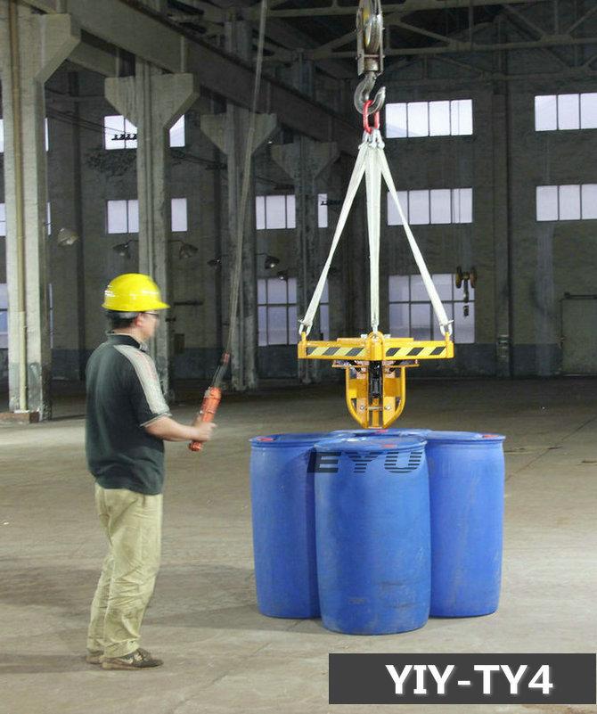 吊车专用四桶夹