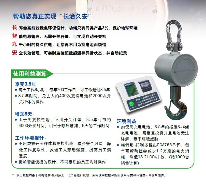 PCA765电子吊秤