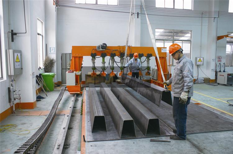 地磅焊接过程